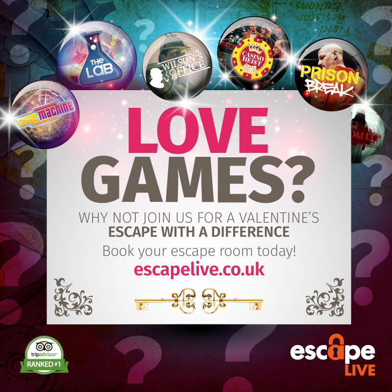 Escape Rooms Perfect For Valentine's Day