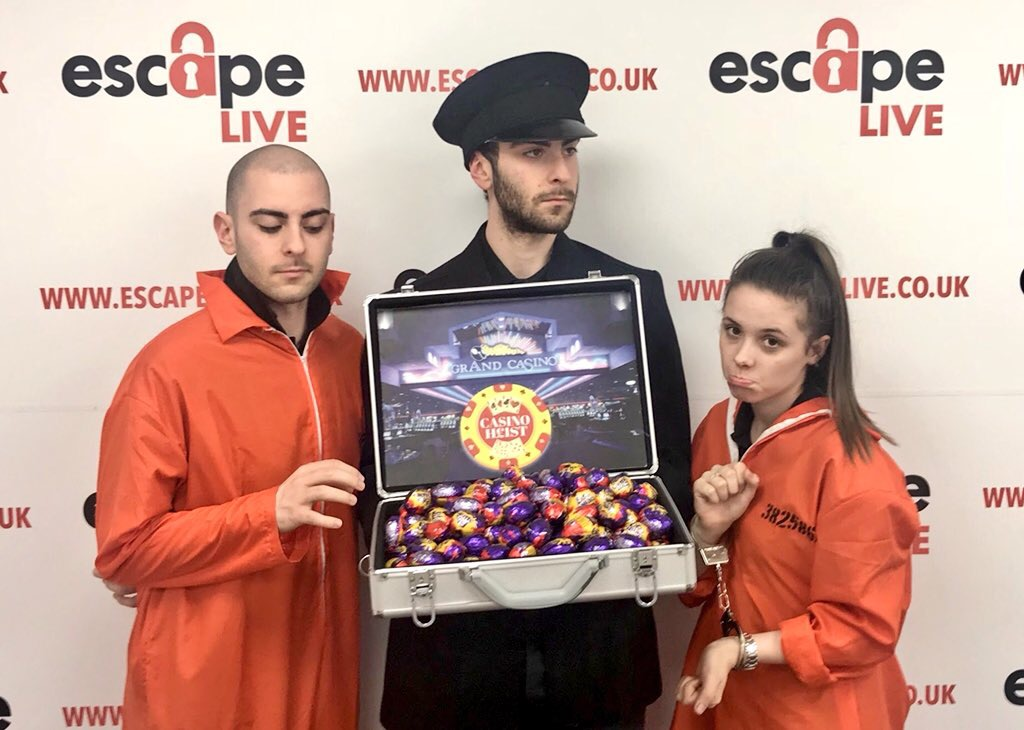 Are you ready for an Egg-scape this Easter  - Escape Live