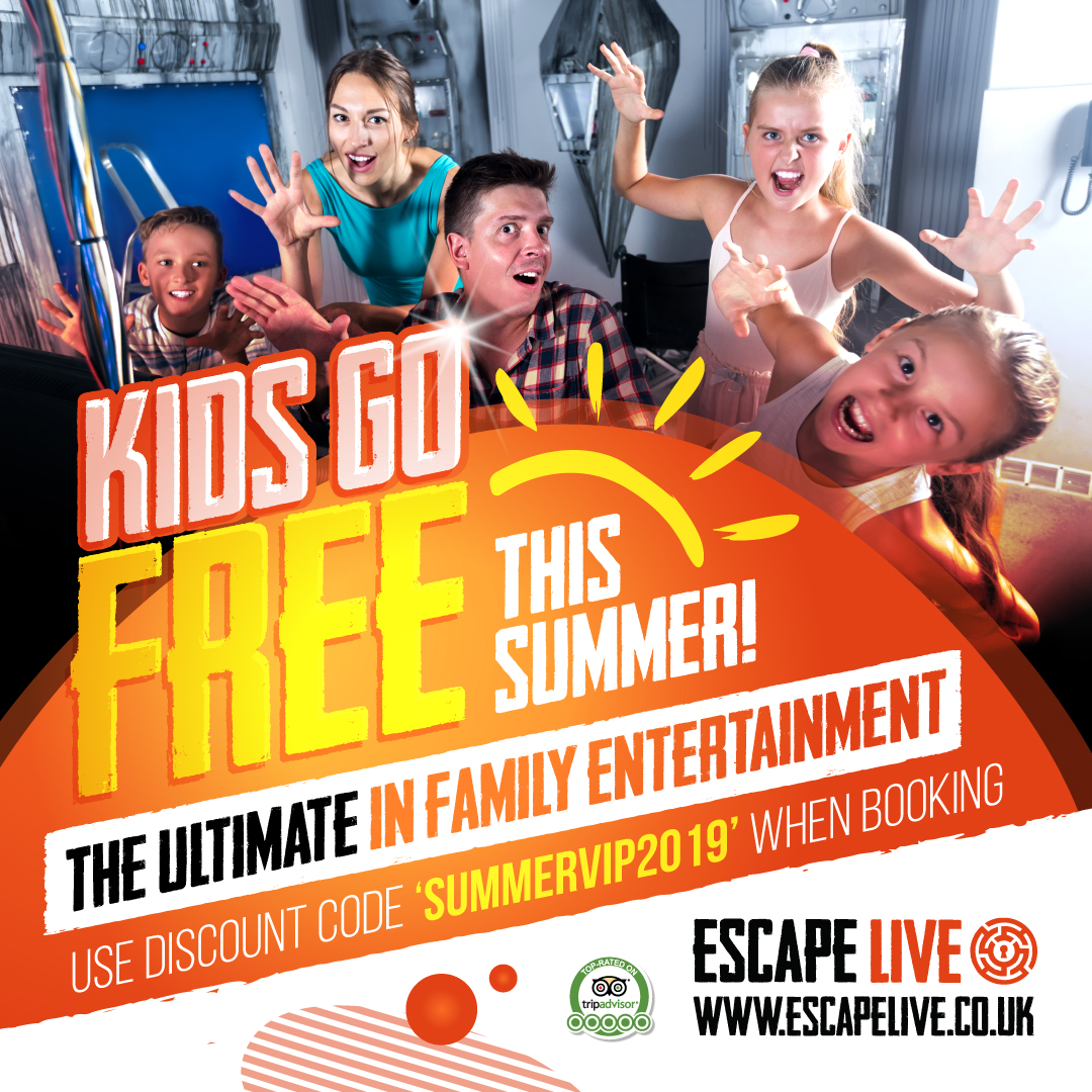 Kids go free this Summer! Terms and Conditions