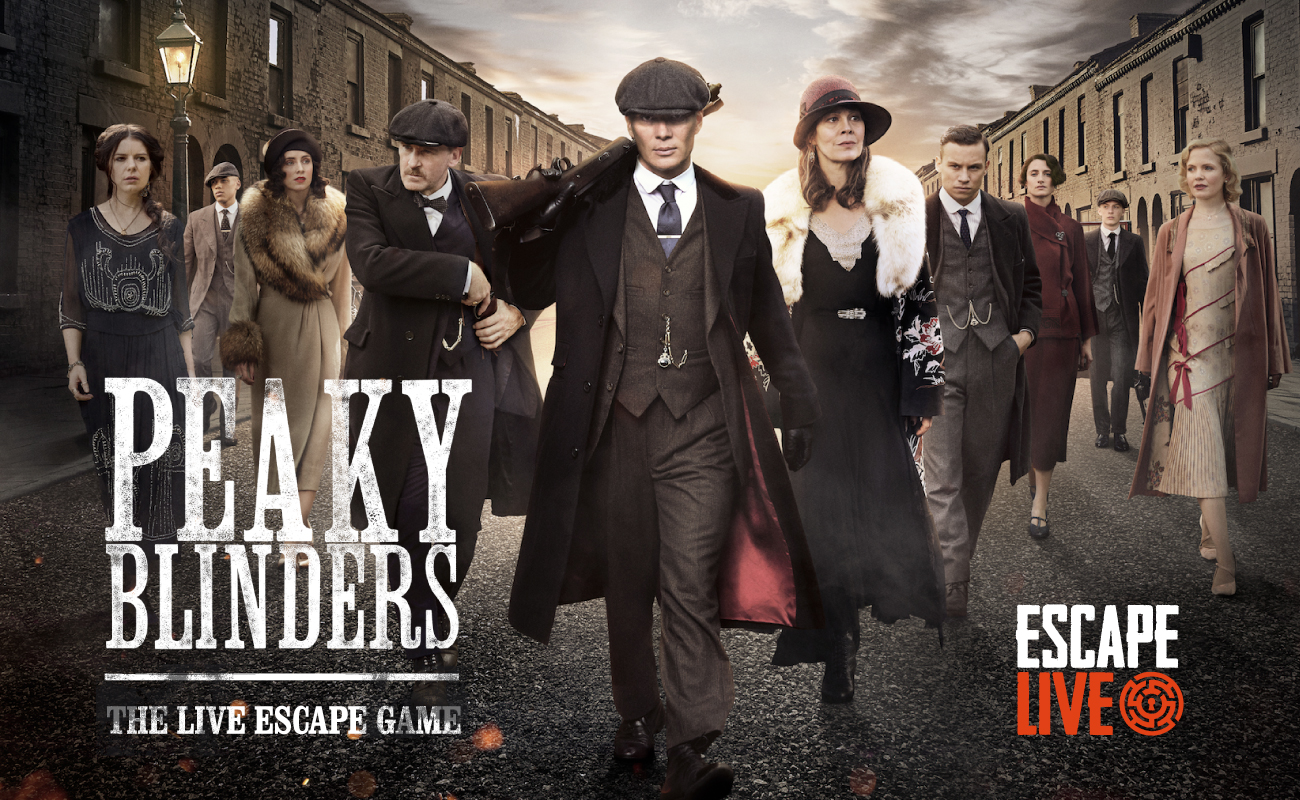 Two Peaky Blinders Escape Rooms Coming to Birmimgham