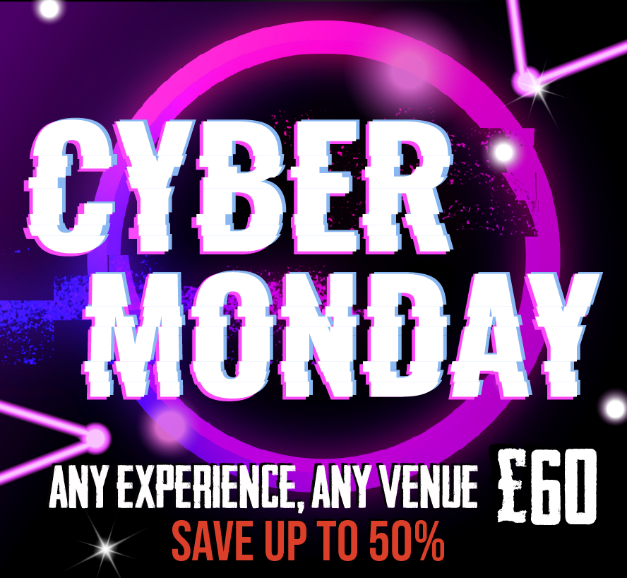 Cyber Monday at Escape Live