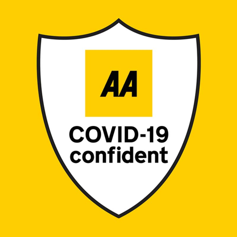 AA UK COVID-19 Confident Shield