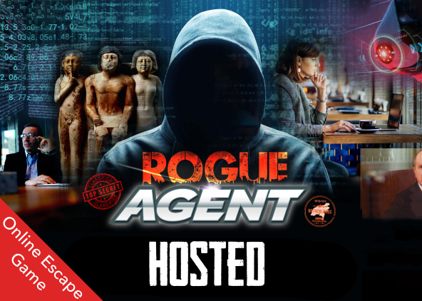 Hosted Rogue Agent Escape Game